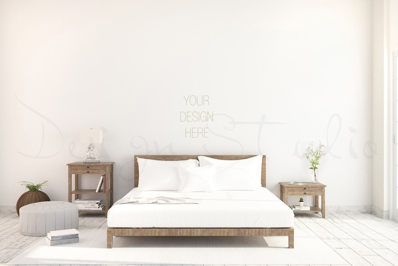 white  Wall Bedroom Photography Scandinavian interior  image 0