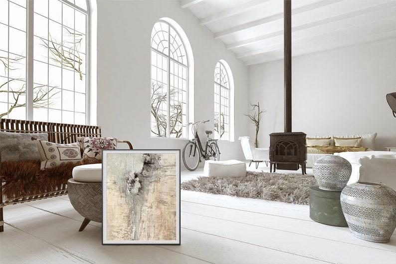 Frame mock up scandinavian interior minimalist frame mockup image 0