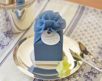 Wedding Favor Boxes.25 Black And Rose Gold Wedding Favor Box Wedding Favor Box Etsy
