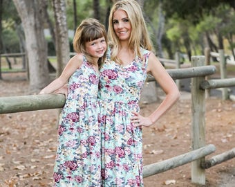 floral maxi, mommy and me outfits, mother daughter, matching outfits, mommy and me dress, matching dresses,mom and baby, mothers day gifts
