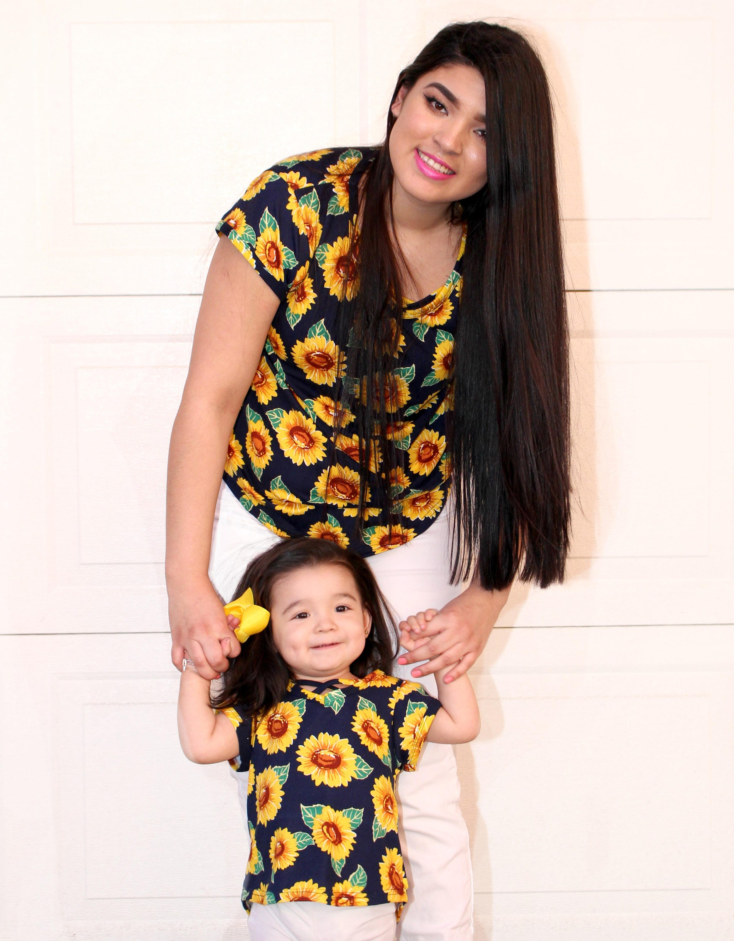 sunflower shirts mommy and me matching shirts matching