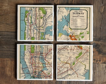 Subway Map 137 Hudson Street.Nyc Subway Etsy