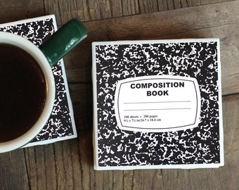 Author Gifts / Coasters / Gifts For Writers / Literary Gifts / Book Gifts / Book Lover / Gift for Author / Book Coasters