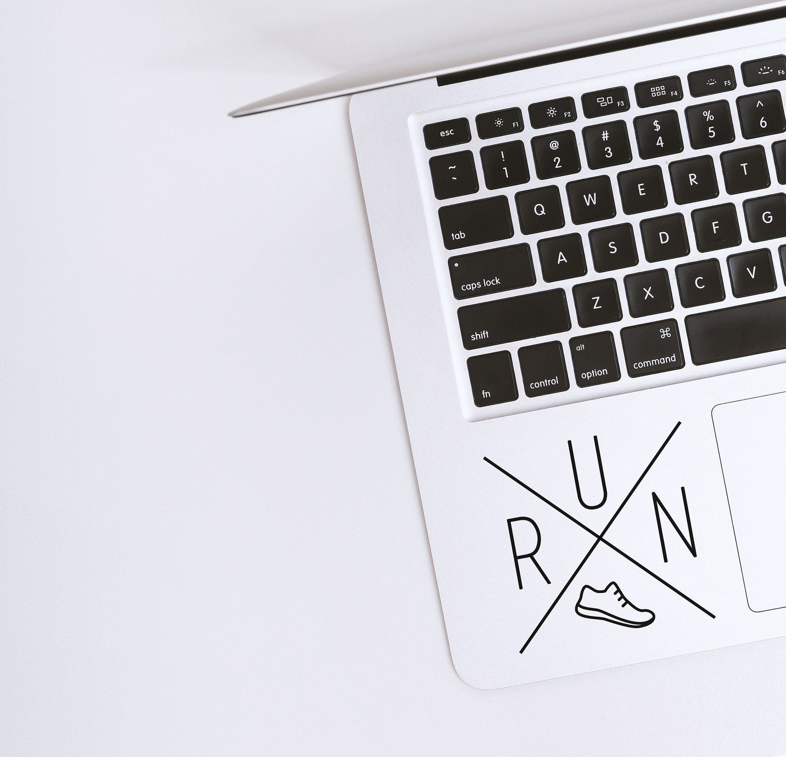 running sticker