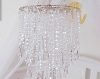 Chandelier mobile etsy quick view aloadofball Choice Image