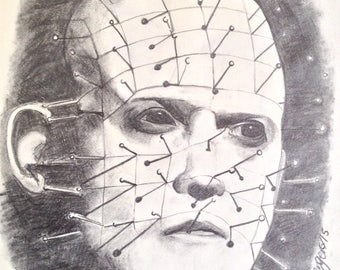 Drawing of Pinhead