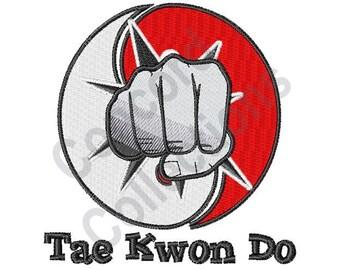 Tae Kwon Do - Machine Embroidery Design, Martial Arts - Machine Embroidery Design