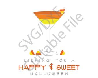 Halloween SVG, Candy Corn SVG, DXF File, Htv, Vinyl Cutting File
