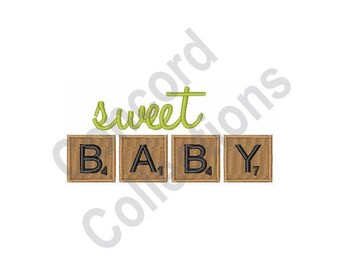 Sweet Baby - Machine Embroidery Design