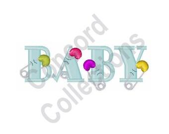 Baby - Machine Embroidery Design