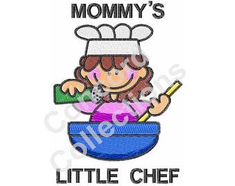 Chef Machine Embroidery Design