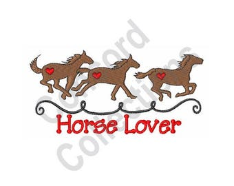 Horses - Machine Embroidery Design, Horse Lover
