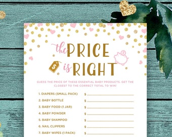 Pink Who Knows Mommy Best Printable Baby Shower Games Instant | Etsy