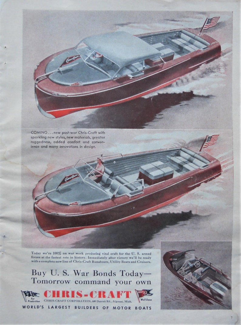 New Chris Craft Runabout