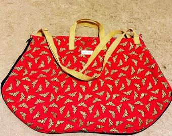 Custom Lemon-Wedge Style Dress Bag