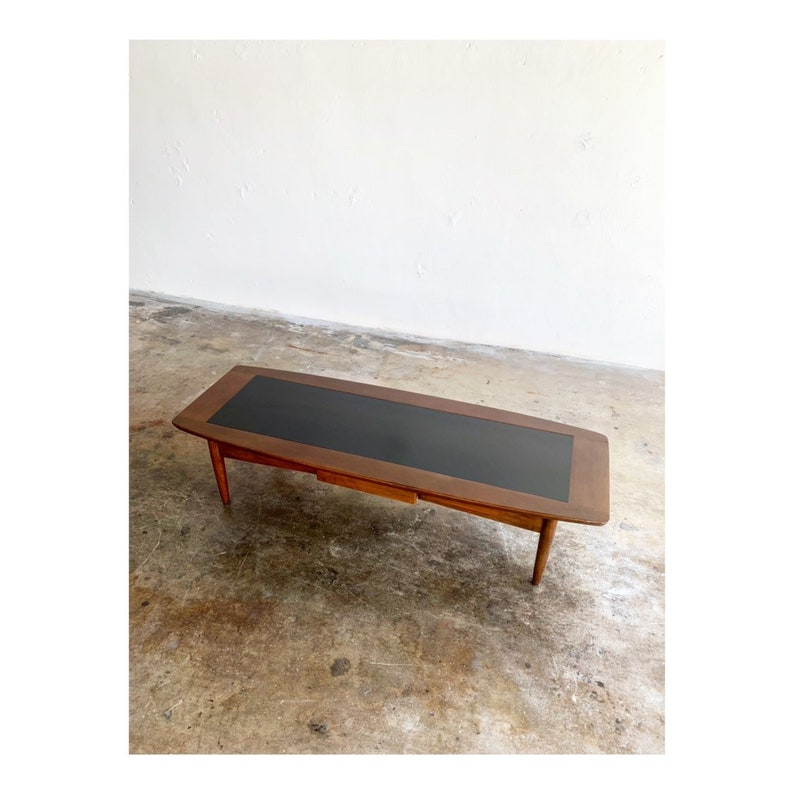 Mid Century Surfboard Coffee Table By American Of Martinsville Etsy
