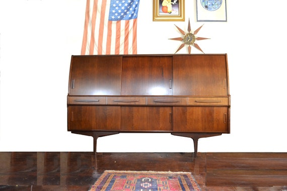 Danish Credenza For Sale : Danish modern rosewood sideboard by poul m. jessen for pmj etsy