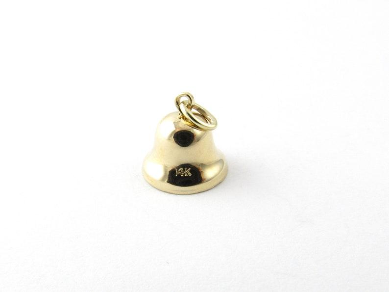 Vintage 14 Karat Yellow Gold Bell Charm #5259