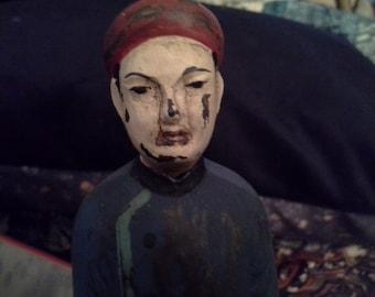 Chinese man statue