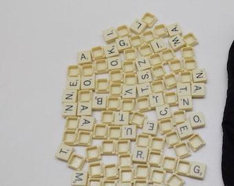 Individual Scrabble Letter Tiles Authentic