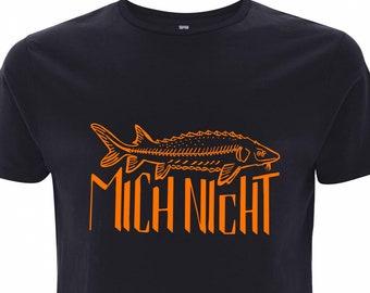 Don't bother me - Angler night blue navyblue TShirt bio fair gots