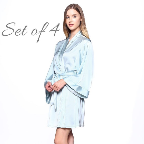 Bridal Robe To Get Ready In: 25% OFF / Set Of 4 Bridesmaid Robes For Getting Ready / Bridal