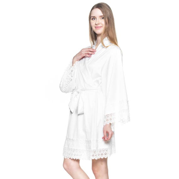Bridal Robe To Get Ready In