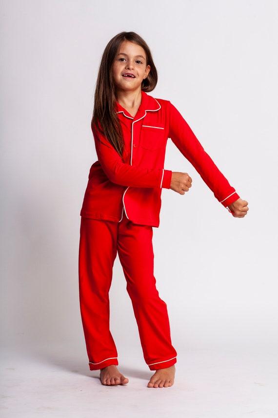 Boys Christmas Pajamas.Boys Christmas Pajamas Unisex Pjs Red Christmas Pajamas Christmas Morning Pajamas Pajama Pjs Family Christmas Pajamas Two Piece Set Cotton