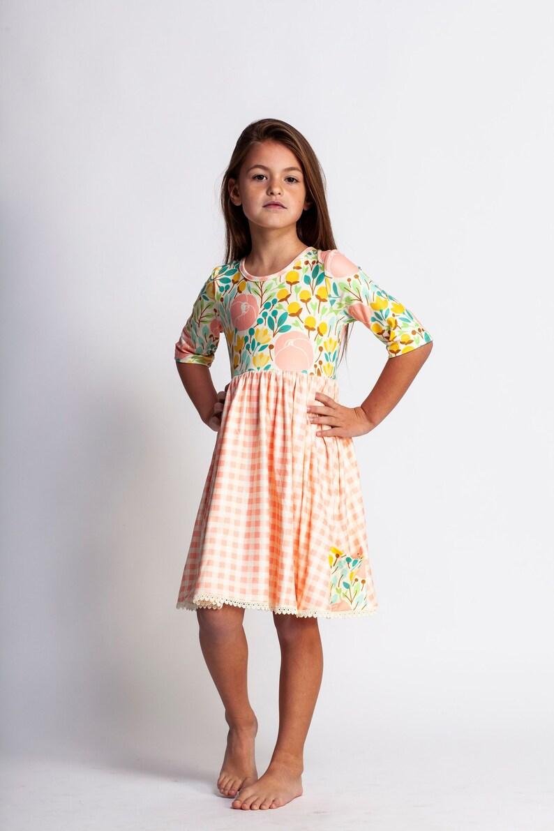 fd09ec04c Twirl dresstwirly dresspretty girls dressspring   Etsy