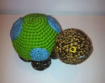 Turtle, Toy Tortoise, Amigurumi Turtle, Handmade Turtle, Crochet Turtle, Soft Toy, turtle Gift, green turtle