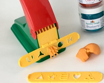 Play Dough Press Tool - Play Dough Tool - Preschool Tool - Fine Motor Skills - Nostalgic Kids Toy - Squishy Dough
