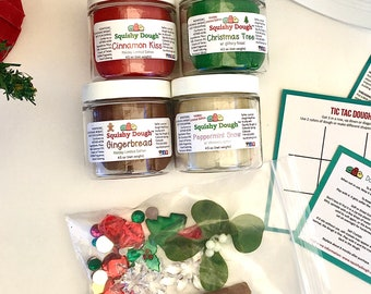 Christmas Play Dough Activity Kit - Scented Play Dough - Holiday Play Dough Kit - Christmas Craft - Preschool Toys - Squishy Dough™