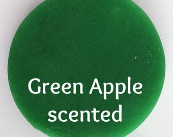 Green Apple Play Dough - Green Dough - Kids Dough - Scented Play Dough - Aromatherapy Toys - Sensory Play - Green Putty - Squishy Dough