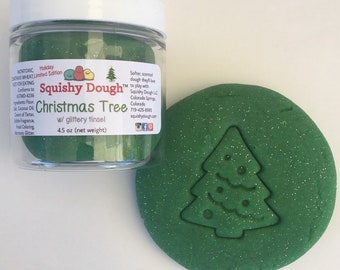 Christmas Tree Scented Play Dough - Christmas Activities for Kids - Glitter Play Dough - Holiday Sensory Play - Squishy Dough™