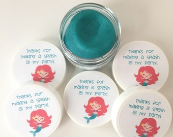 5 Mermaid Party Favor Doughs - Mermaid Party Favors - Mermaid Birthday - Play Doh Party Favors - Squishy Dough Party Favors - Play Doh Party