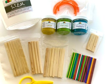 STEM Activity with Scented Play Dough – Building Toy - Future Architect - STEM Activity - Montessori - Waldorf Toys - Squishy Dough