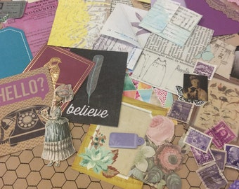DIY build a journal page kit