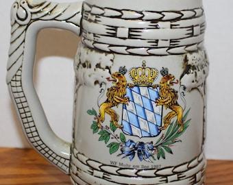 German Bavarian Stein Mug - 1987 Muhr am See