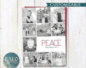 PEACE - Christmas Cards