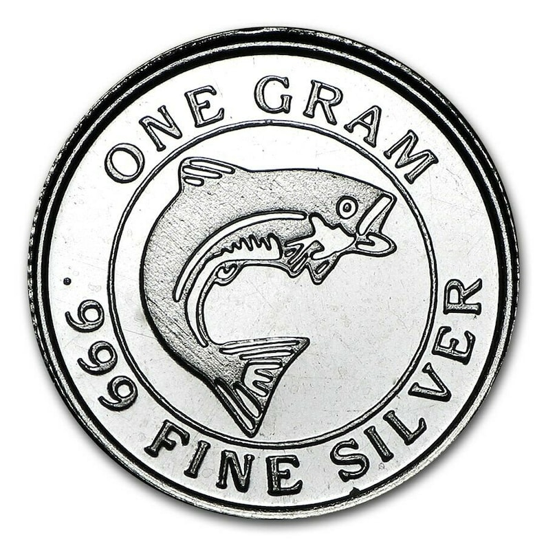 1 Gram .999 Fine Silver RoundCoin from Monarch