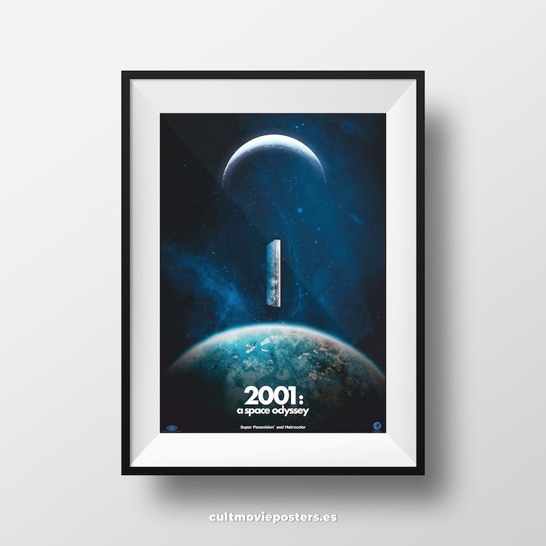 2001 A SPACE ODYSSEY EYE DESIGN MOVIE POSTER FILM A4 A3 ART PRINT CINEMA