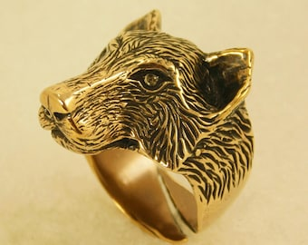 Ring Big Wolf