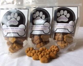 Organic Dog Treats - Brucys Punkin' & Peanut Butter Pawsties (Free Shipping)