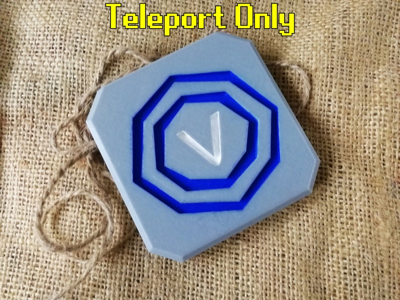 Runescape Teleport Tabs | Gift for him | FREE SHIPPING | Runescape Gifts |  OSRS Boyfriend Gift | Runefest | 3D Printed