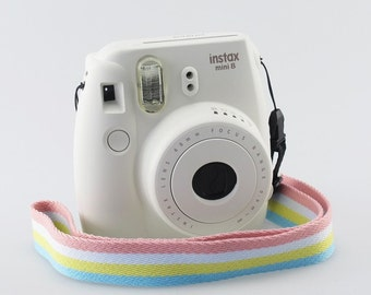 Strap pastel colors for Fujifilm Instax Mini 8 and Mini 8 Plus.