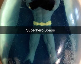 Superhero Soap