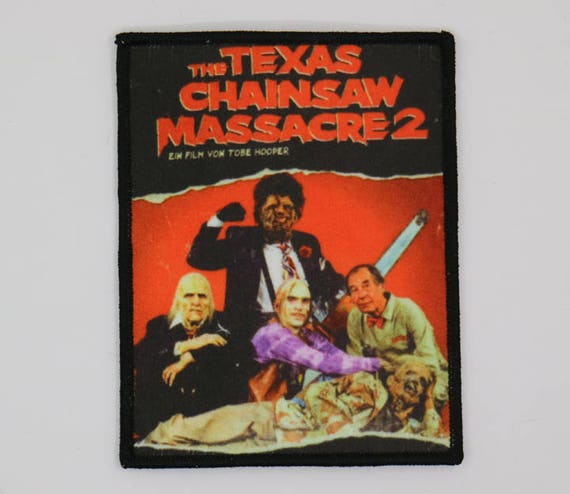 ac56f0a0412 The Texas Chainsaw Massacre 2 Full Color PATCH HORROR