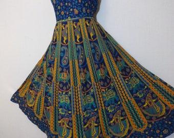 dc676d54fcf Indian maxi dress cotton maxi dress cotton boho long maxi dress elephant  bohemian maxi dress Indian gown block print maxi dress long dress