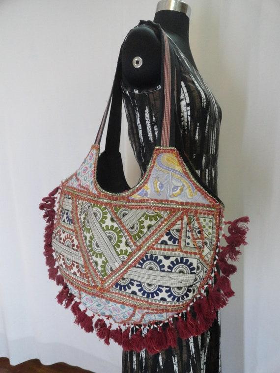 87065a7de2b9 banjara bag boho bag embroidered bag indian bohemian bag