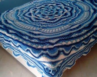 Blanket Crochet Etsy